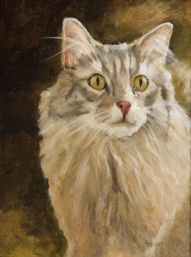 Animal Painting - Chessie by Jimmie Trotter