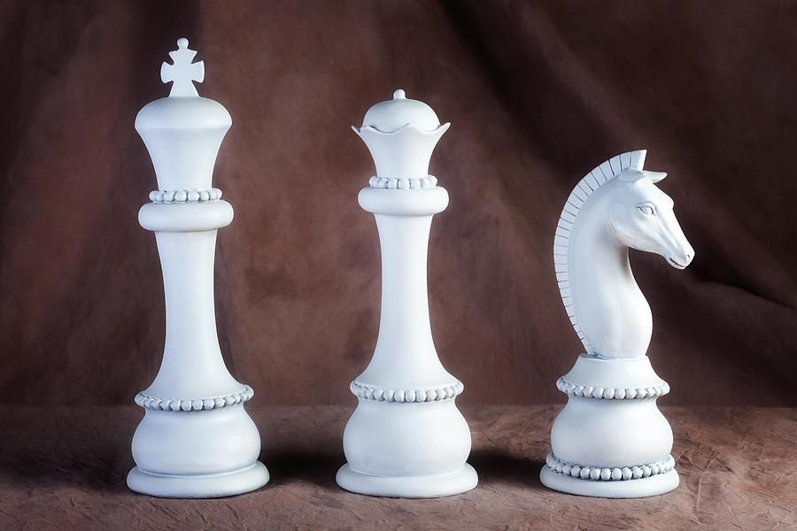 Queen Photograph - Chessmen V by Tom Mc Nemar