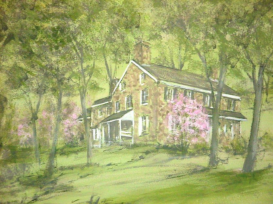 Landscape Painting - Chester Springs by David Bruce Michener
