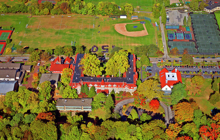 Cha Photograph - Chestnut Hill Academy 500 West Willow Grove Avenue by Duncan Pearson