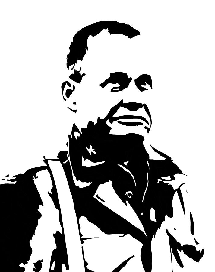 Chesty Puller Digital Art - Chesty Puller by War Is Hell Store