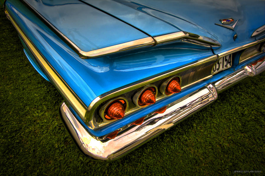 Transportation Photograph - Chev One by Jerry Golab