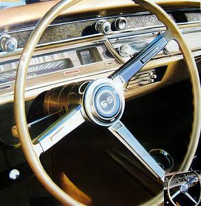 Oil Painting - Chevelle Ss Interior by Counterparts Original