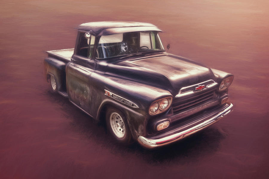Classic Car Photograph - Chevrolet Apache Pickup by Scott Norris