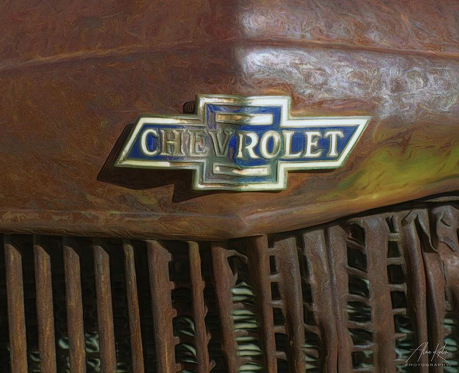 Chevrolet Logo Photograph