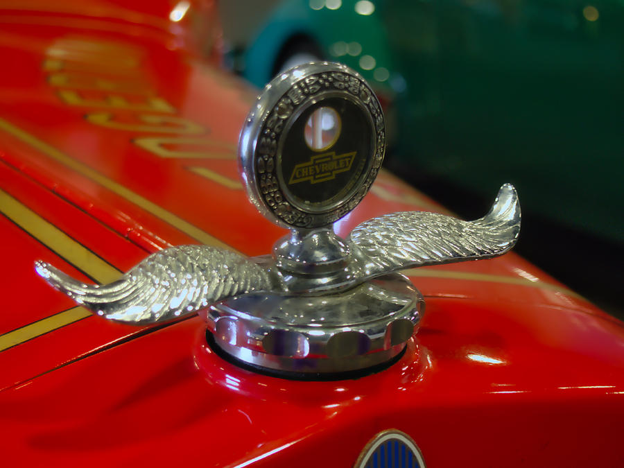 Automotive Photograph - Chevrolet Wings by Michael Colgate