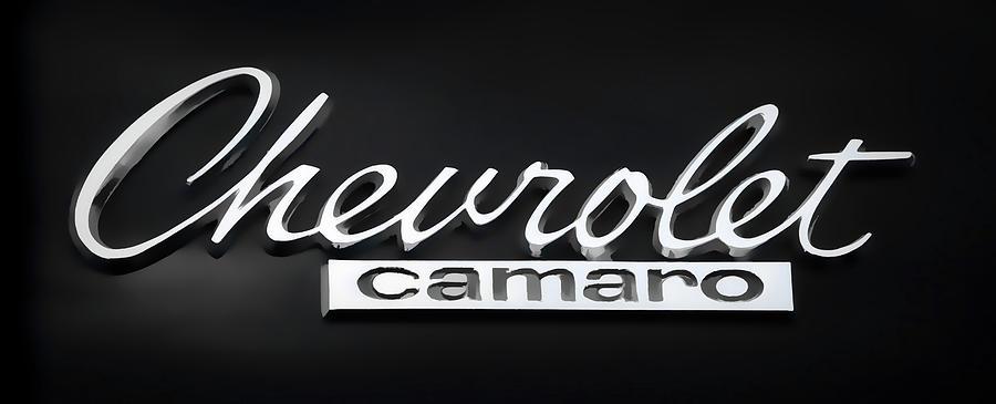 Chevy Camaro Emblem Photograph By Athena Mckinzie