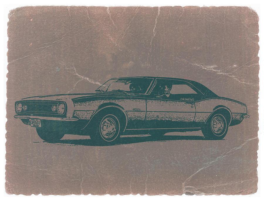 Camaro Photograph - Chevy Camaro by Naxart Studio