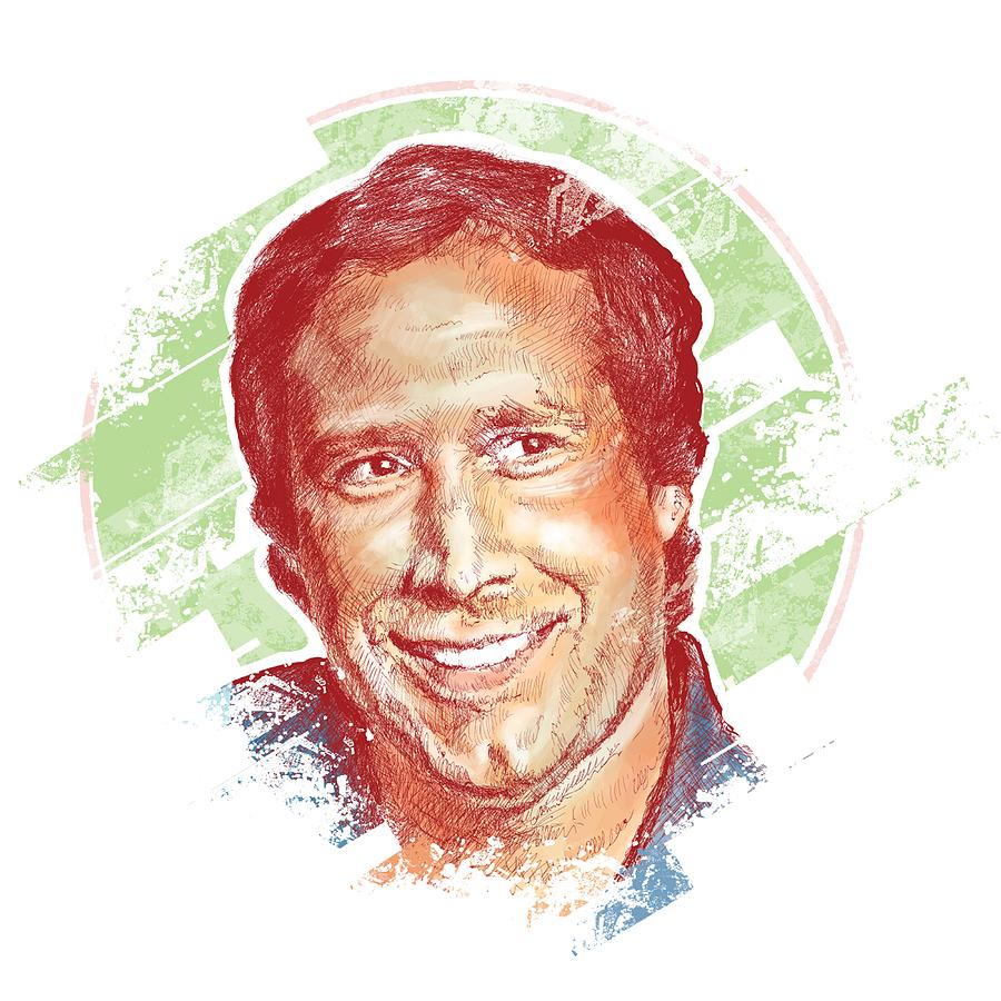 Chevy Chase Digital Art - Chevy Chase by Chad Lonius