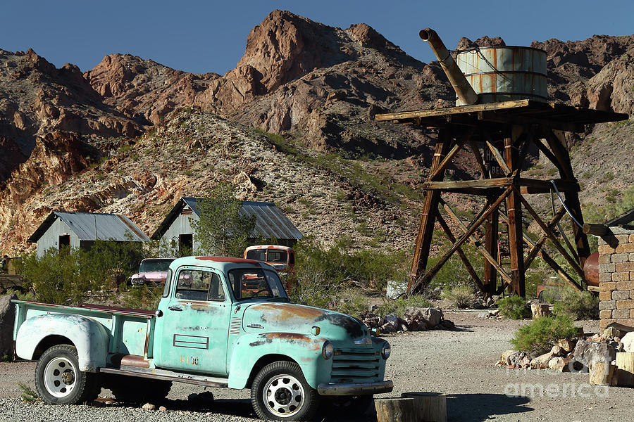 Truck Photograph - Chevy In The Desert  by Rick Mann