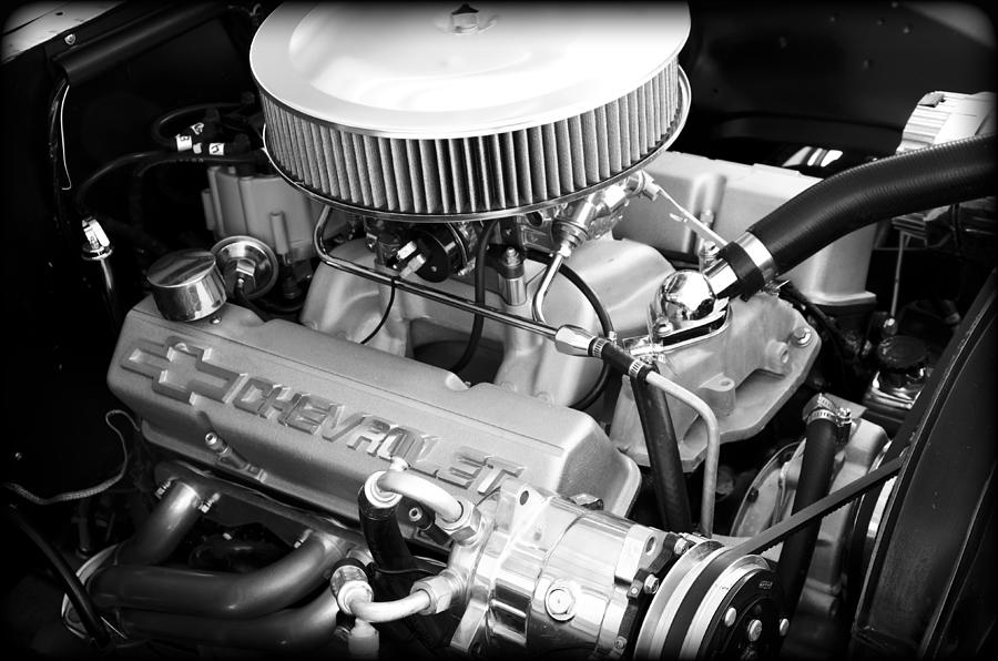 America Photograph - Chevy Power by Ricky Barnard