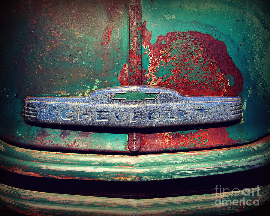 Truck Photograph - Chevy Rust by Perry Webster