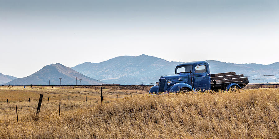 Chevy Truck Photograph