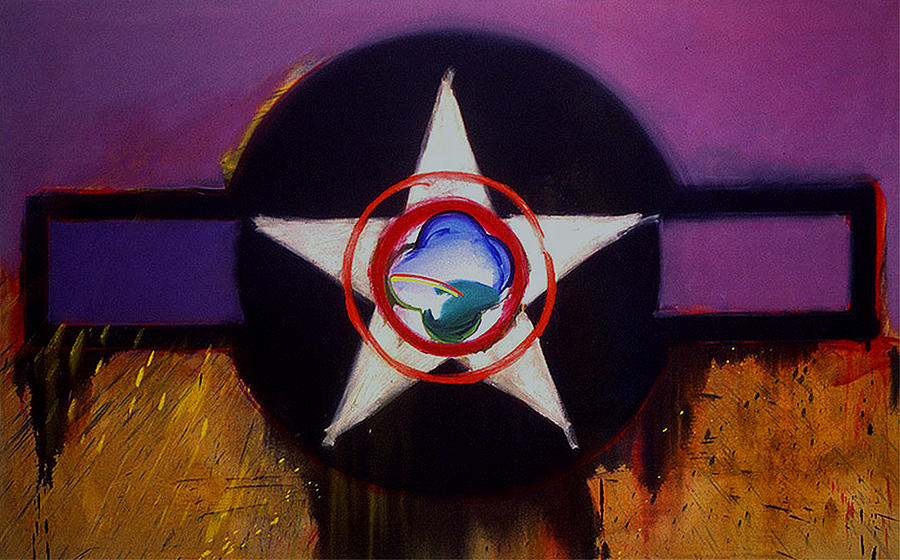 Air Force Insignia Painting - Cheyenne Autumn by Charles Stuart