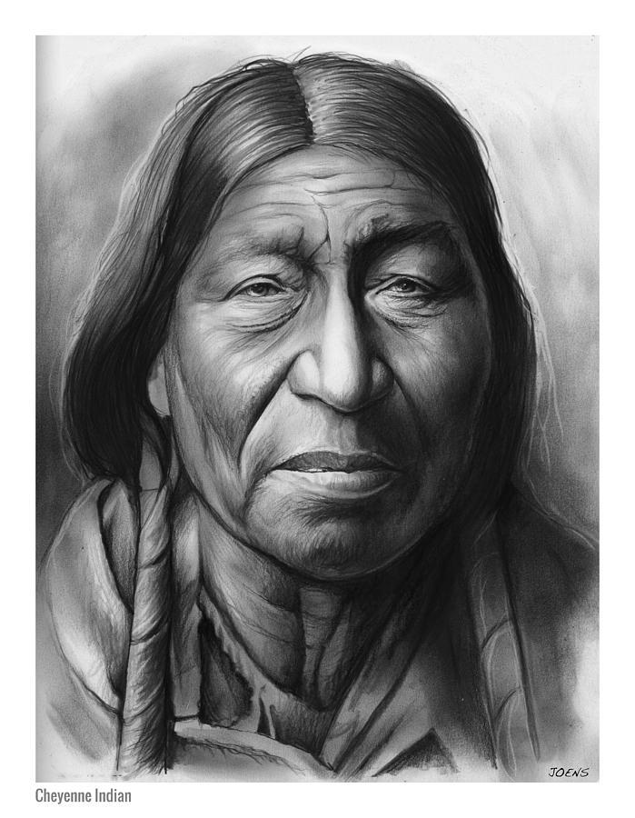 Cheyenne Drawing