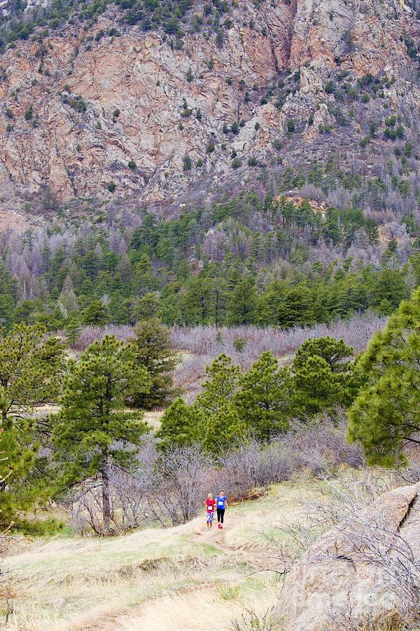 Cheyenne Mountain Trail Race Adventure Colorado Springs Photograph