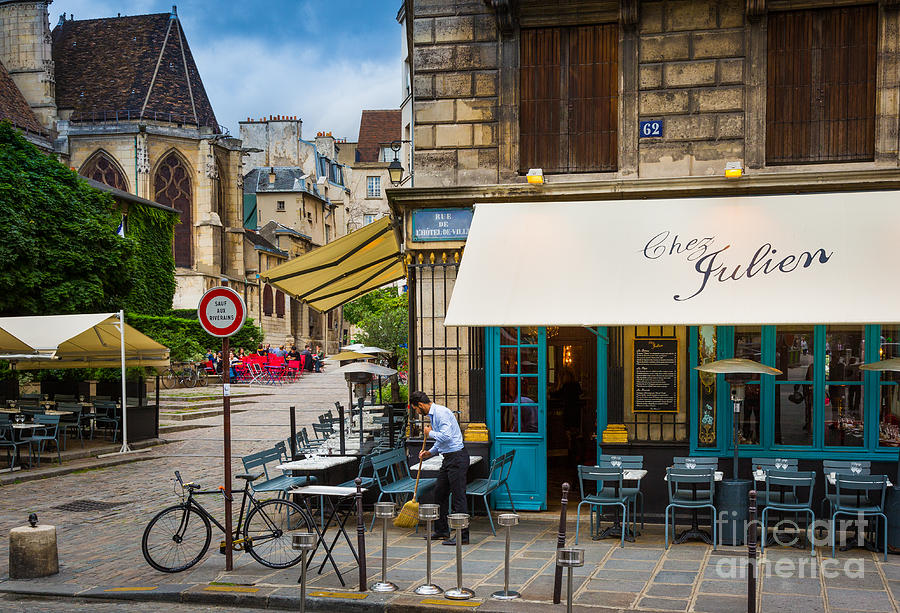 Europa Photograph - Chez Julien by Inge Johnsson