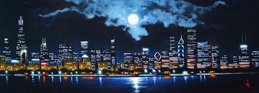 Chicago Painting - Chicago 2 by Thomas Kolendra
