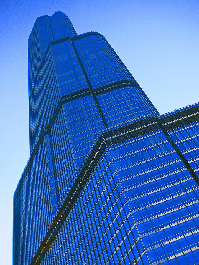 Urban Photograph - Chicago Abstract 2 by Michael Durst