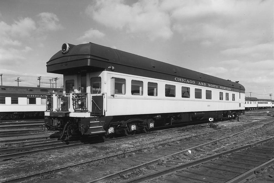 Chicago Photograph - Chicago And North Western Business Car 1 by Chicago and North Western Historical Society