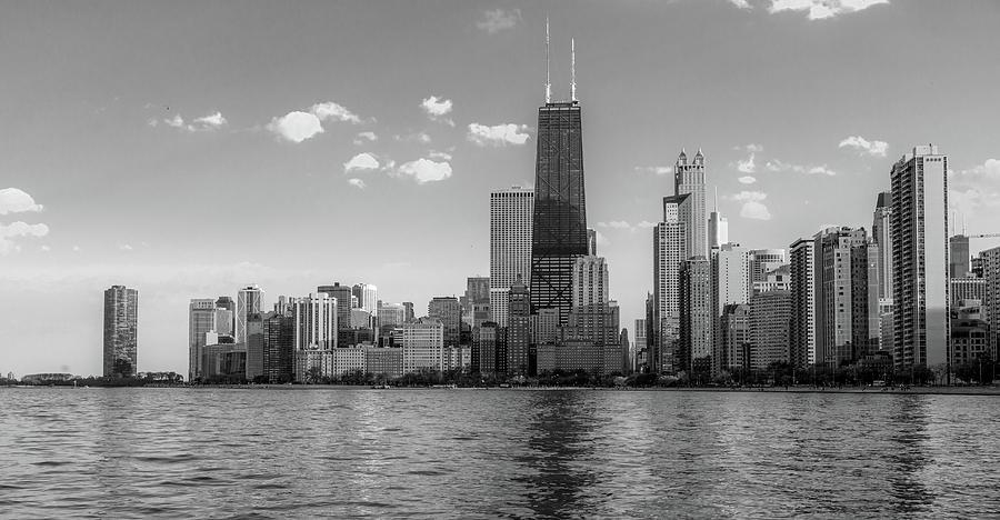 Chicago Architectural Skyline by Lev Kaytsner