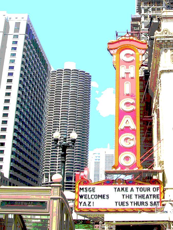 City Photograph - Chicago by Audrey Venute