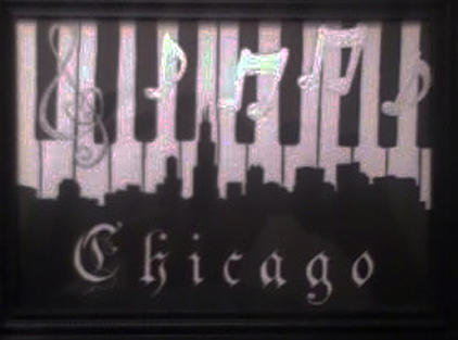Music Mixed Media - Chicago by Chris Hedges