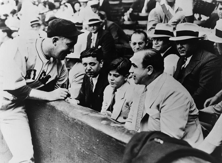 History Photograph - Chicago Cubs Player Gabby Hartnett by Everett