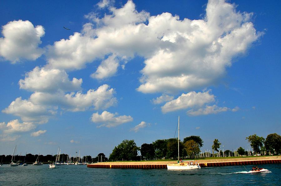 Chicago Harbor Photograph