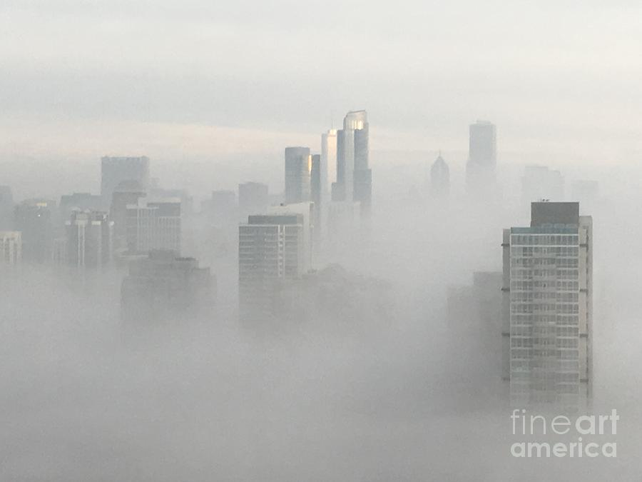 Chicago in the Clouds by Kate Purdy