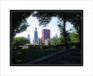 Chicago Photograph - Chicago In The Park by Terry Anderson