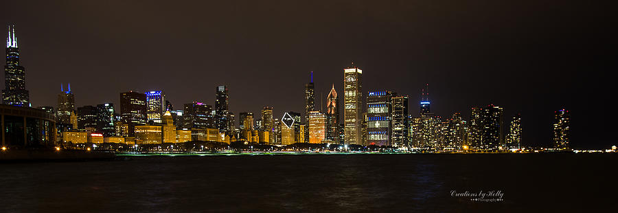 Chicago Lake Front Photograph by Holly Carpenter