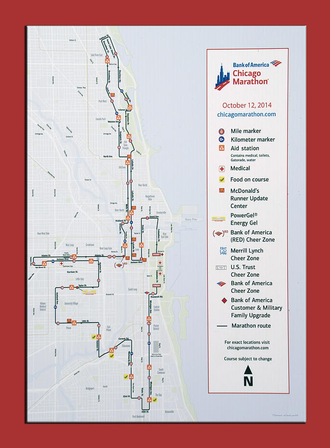 Chicago Marathon Race Day Route Map 2014 on chicago marathon race course, cherry blossom 10 miler course map, nyc marathon elevation map, boston marathon course map, flying pig half marathon course map, outer banks marathon course map, miami half marathon course map, berlin marathon course map, rome marathon course map, chicago marathon course profile, bay to breakers course map, maine marathon course map, eppie's great race course map, louisiana marathon map, grandmas marathon course map, marine corps marathon course map, el paso marathon course map, prague marathon course map, paris marathon course map, dubai marathon course map,