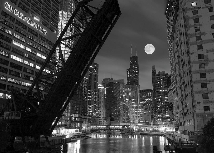 Chicago Photograph - Chicago Pride of Illinois by Frozen in Time Fine Art Photography