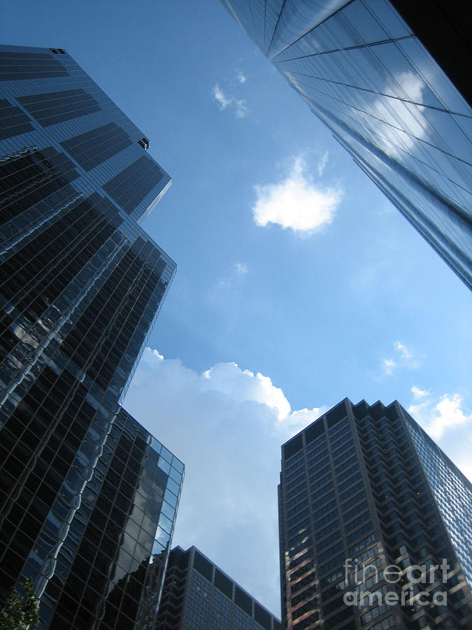 Chicago Photograph - Chicago Sky by Dani Marie