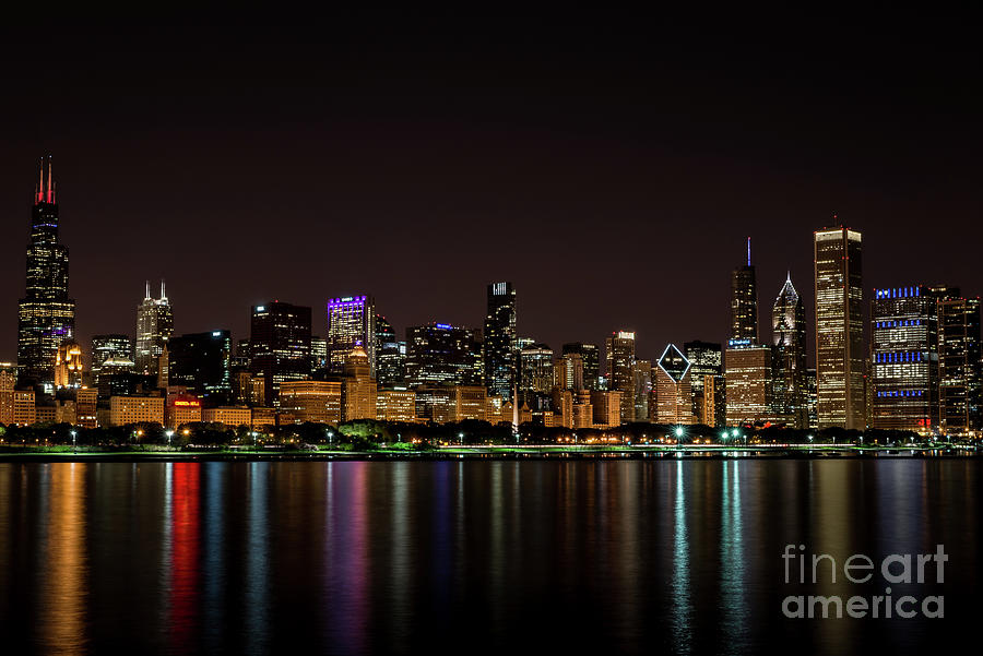 Chicago Skyline by Andrea Silies