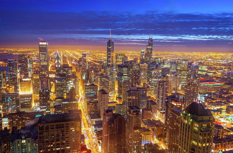 Chicago Photograph - Chicago Skyline by Jess Kraft