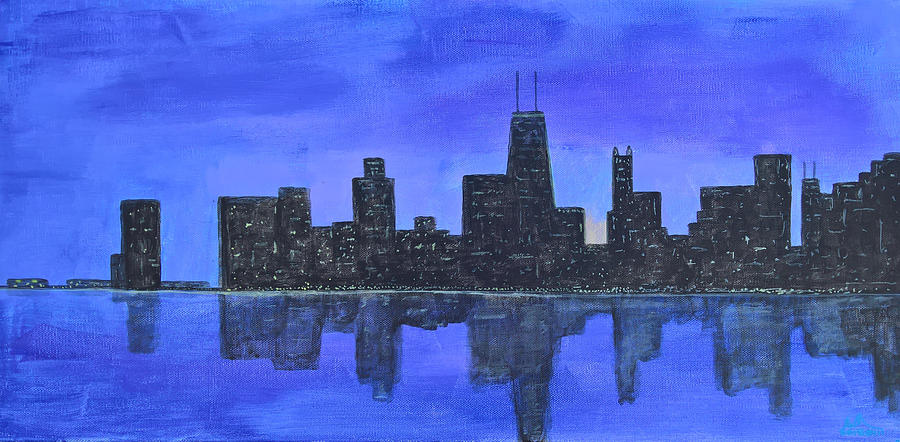 Chicago Skyline by Mark C Jackson