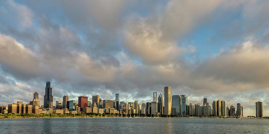 Chicago Skyline by Steve L'Italien