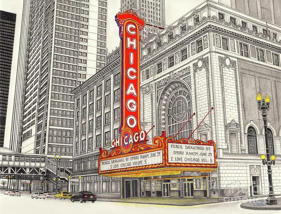 Chicago Theater by Omoro Rahim