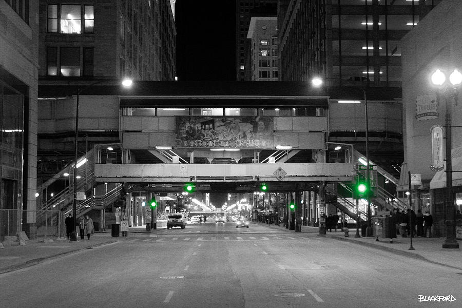 Chicago Photograph - Chicago Train Station by Al Blackford