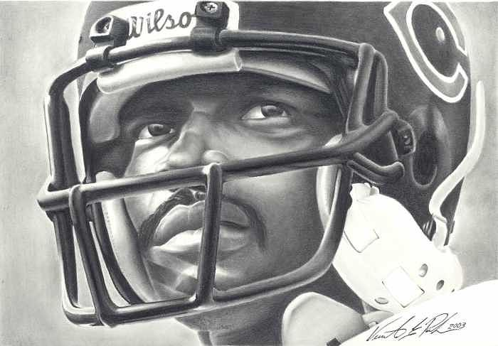 Pencil Drawing - Chicagos Sweetness by Vincent Parker