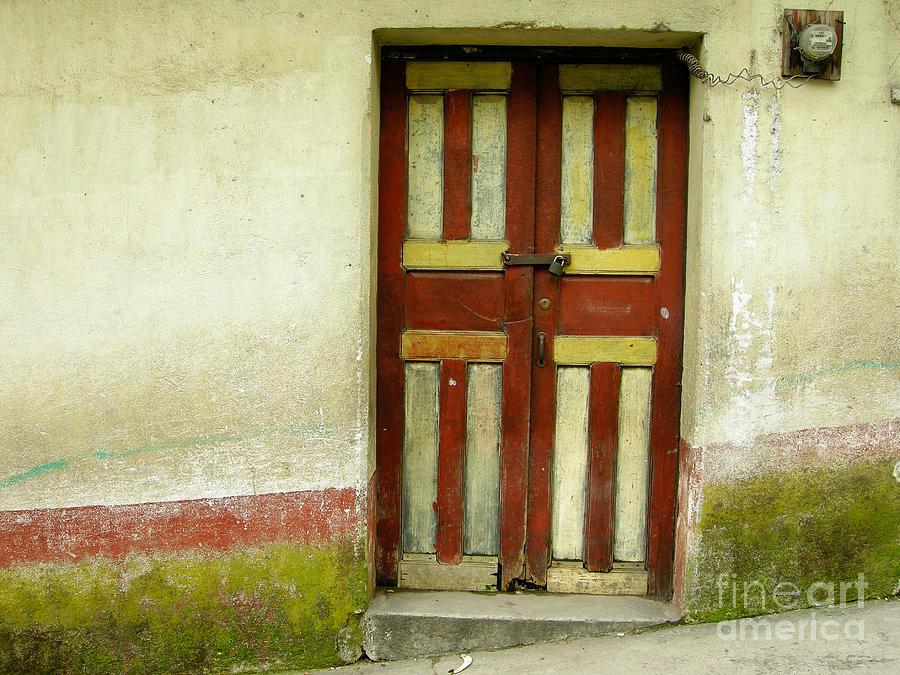 Door Photograph - Chichi Door by Derek Selander