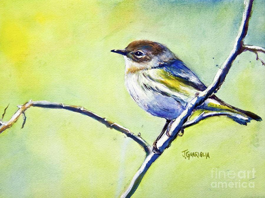 Chickadee Pastel - Chickadee by Joyce A Guariglia