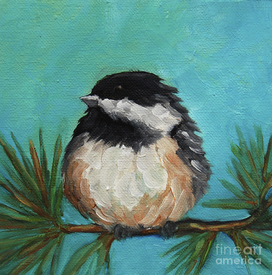 Chickadee by Victoria Page