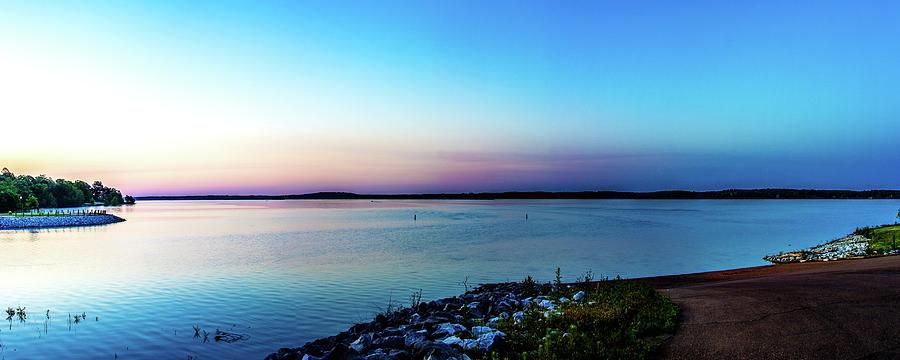 Panorama Photograph - Chickasaw Landing Panorama by Barry Jones