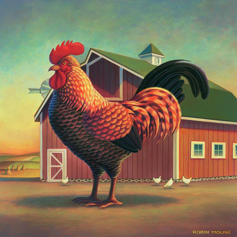 Barnyard by Robin Moline