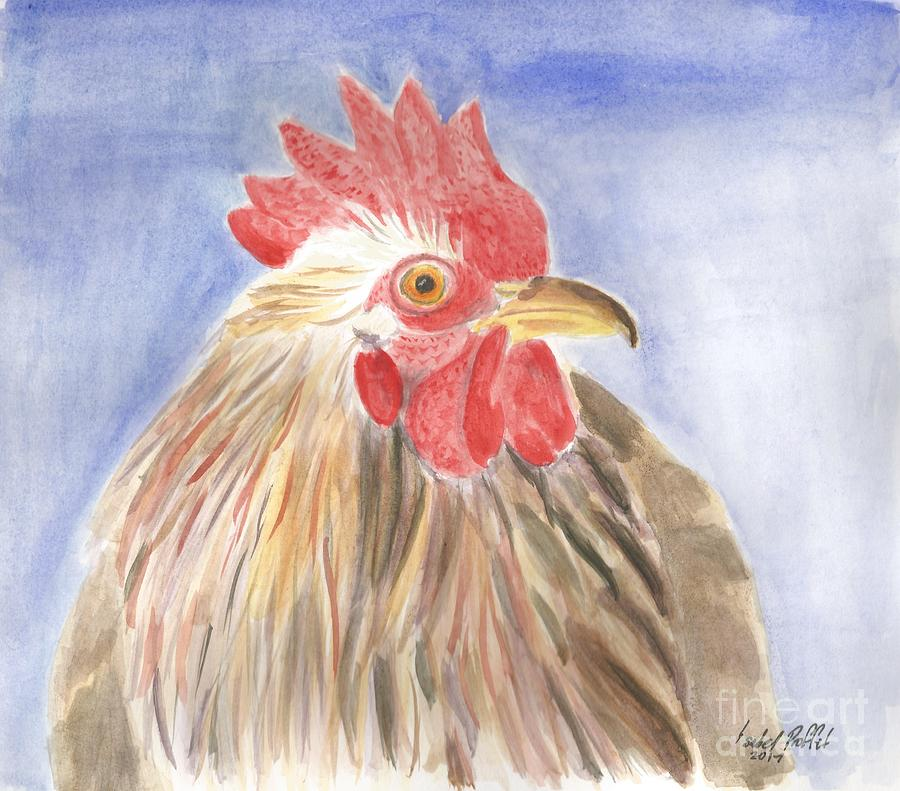 Chicken Painting - Chicken by Isabel Proffit