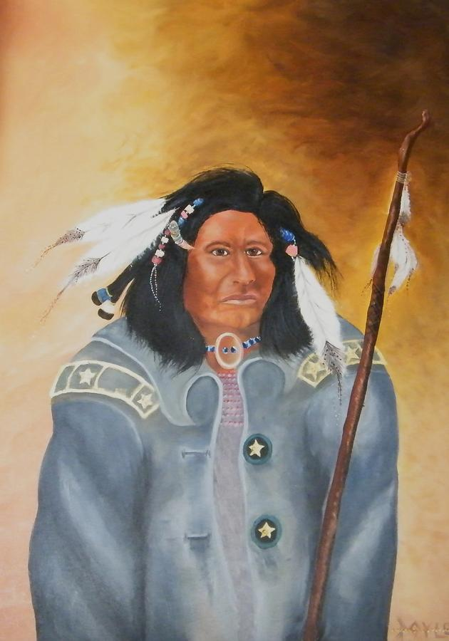 Chief Noneck Painting by Larry Doyle