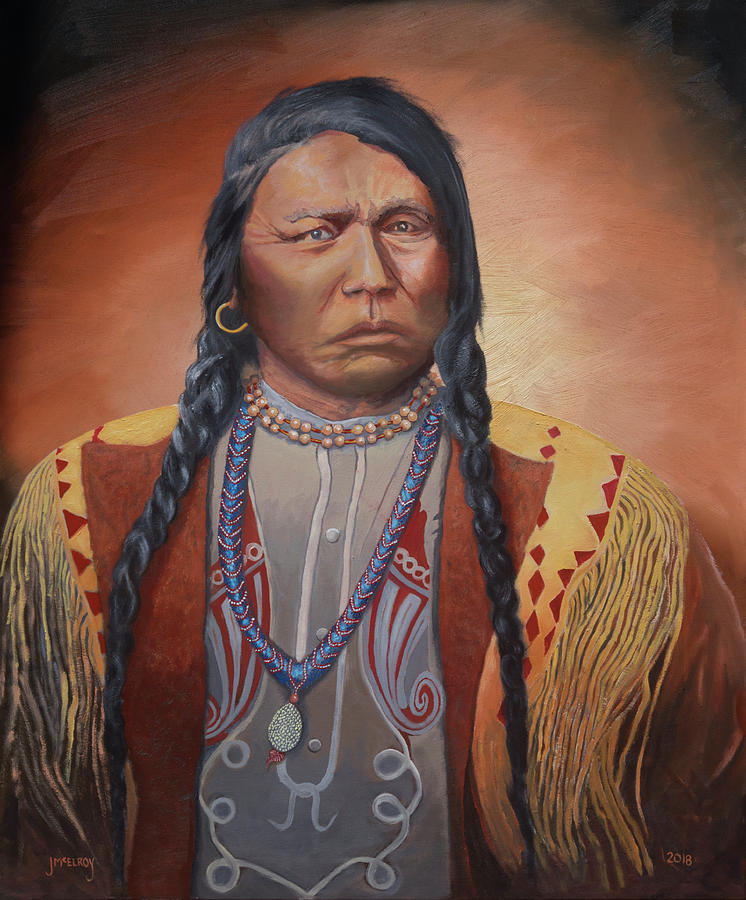 Chief Ouray by Jerry McElroy